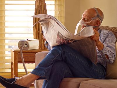 EPOC-paciente-tratamiento-ventilación-no invasiva-a domicilio