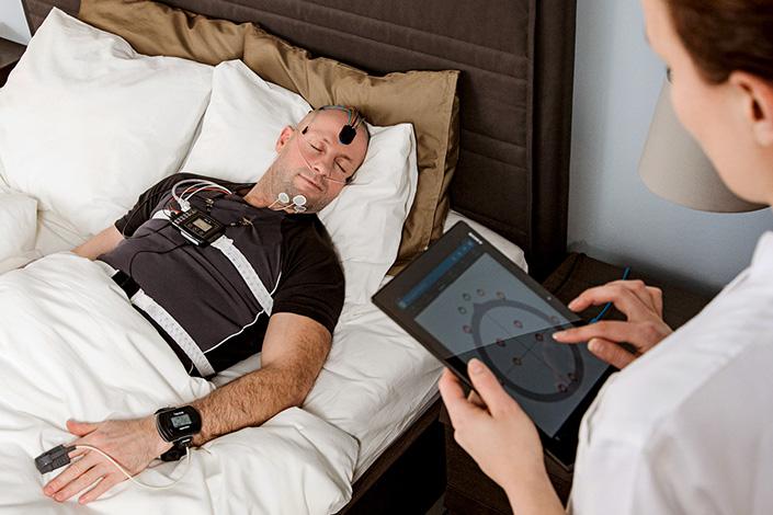 estudio-del-sueño-en-una-clinica-resmed